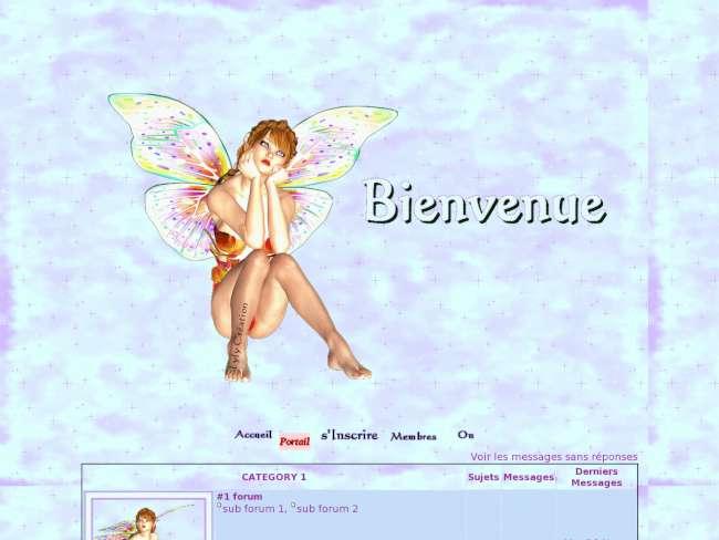 Fée papillon by lyly c...