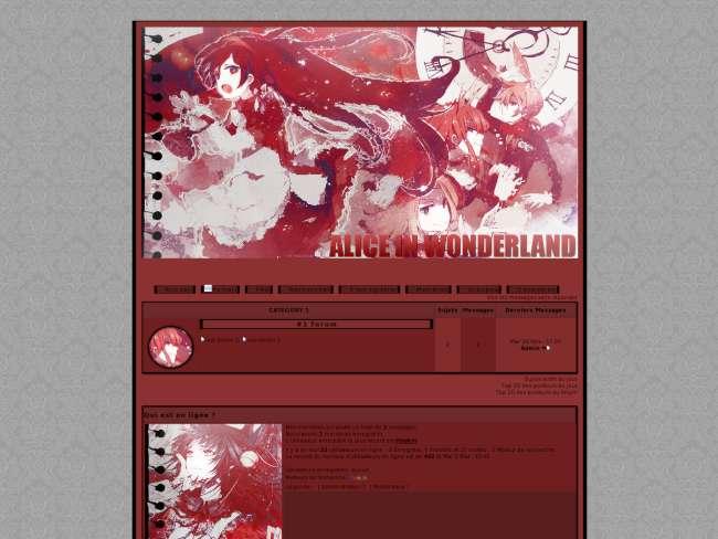 Alice in blood wonderland