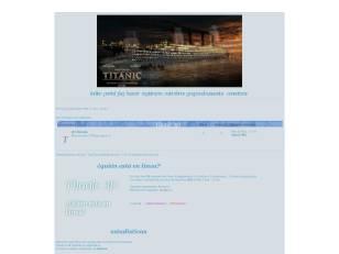 Titanic 3d / concurso ...
