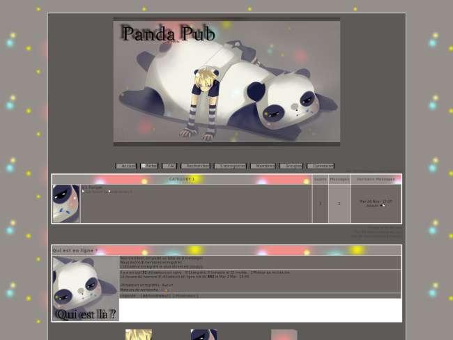 Panda thème 1