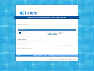 Net +tuts theme