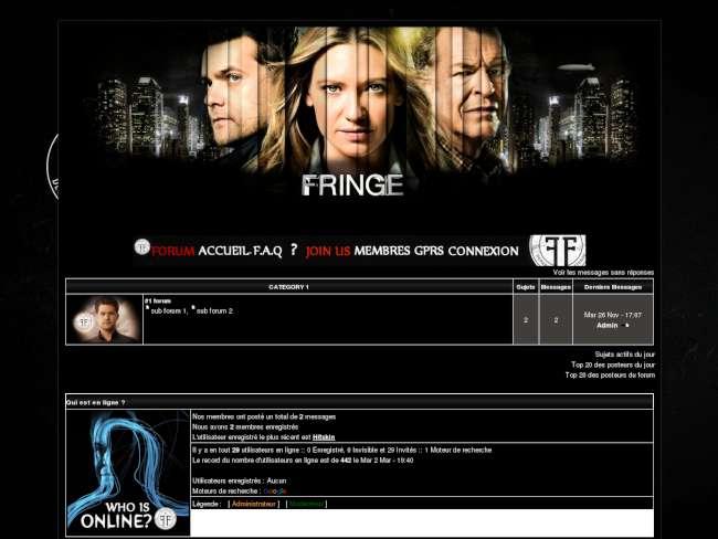 Fringe - our universe