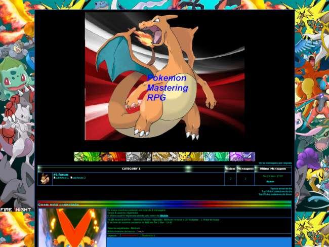 Pokemon on - line rpg