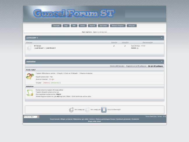 http://guncel.forum.st