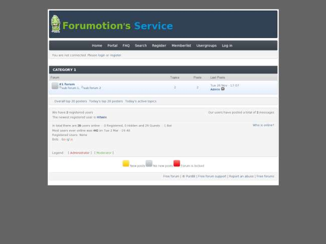 FMThemeService PunBB for Chris