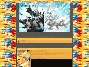 World pokemon distribu...