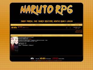Naruto rpg theme skin 1