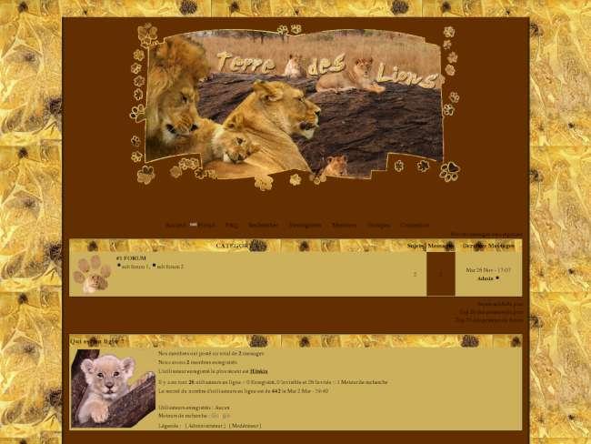 Terre des Lions [Privé]