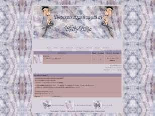 Betty boop violet
