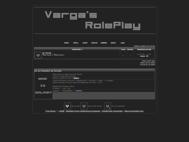 Varga's Role Play