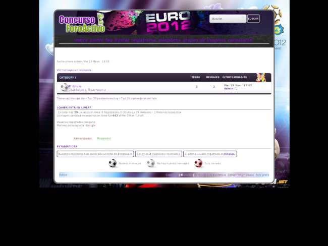 Euro 2012 -  concurso ...