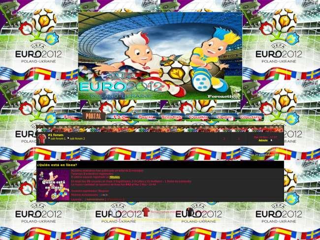 Eurocopa 2012 Concurso Foroactivo