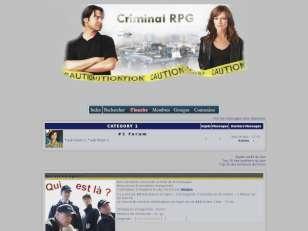 Criminal rpg
