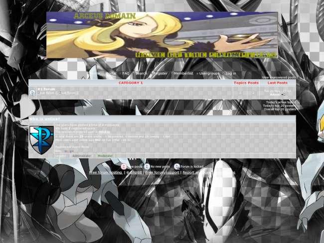 Arceus-Domain ReBorn