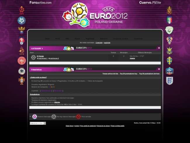EUROCOPA 2012 - Cuervo.PSElite
