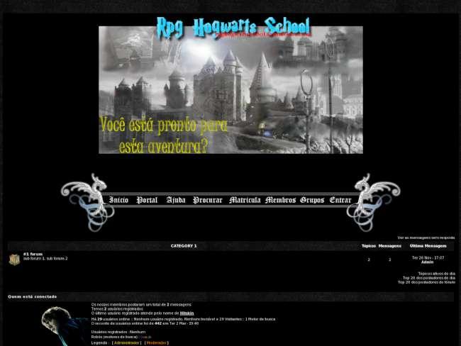 RPG Hogwarts School