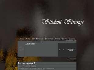 Student strange