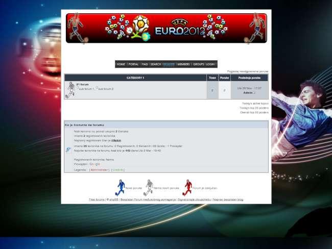 Uefa 2012 contest