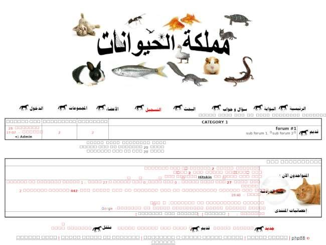 مملكة الحيوانات...