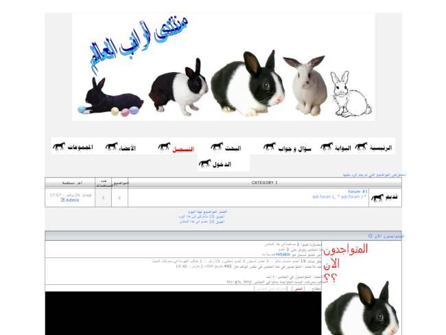 منديات أرانب العالم