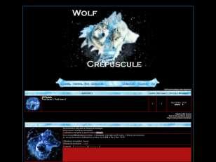 Wolf crépuscule