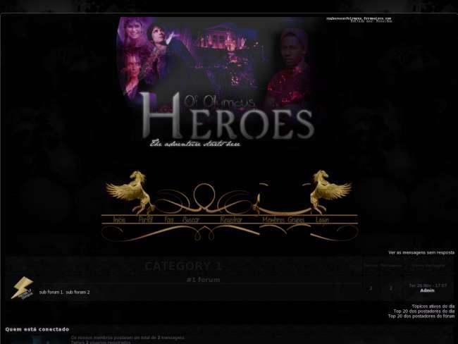 Rpg heroes of olympus
