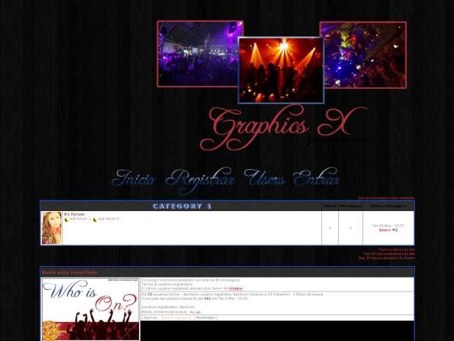 Graphics x - tema:party