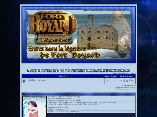 Fort boyard légende - ...