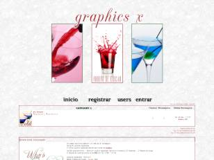 Graphics x - drinks