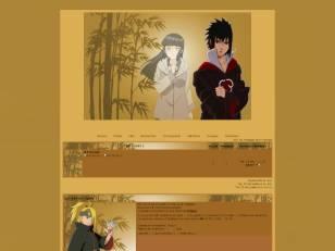 Naruto thème marron