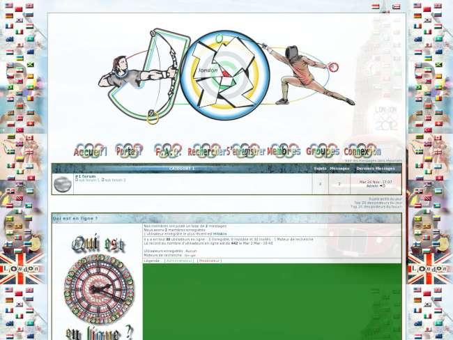 Jeux Olympiques 2012 - Concours Graphique