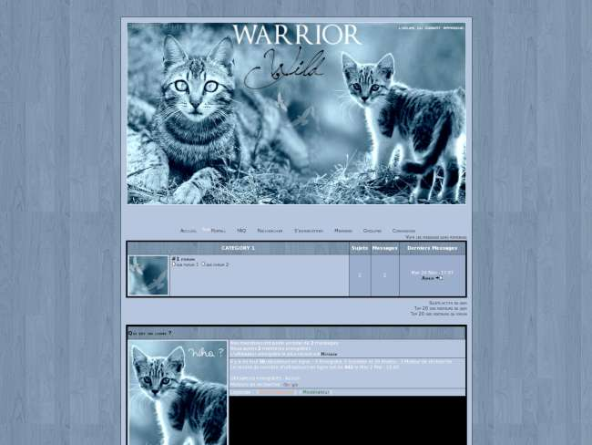 Warrior wild nn libre ...