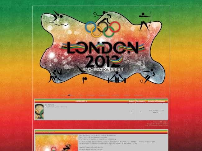 Jeux Olympique de 2012 Theme