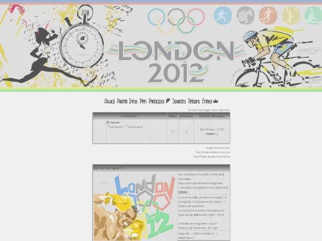 Jeux Olympiques Londres 2012 [Concours]