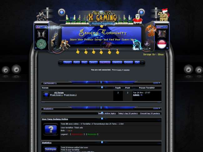X-Gaming Ramadhan Invision