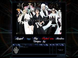 Shinigami-ss blue-black
