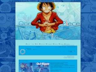 One piece - bleu / bleu