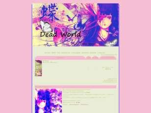 Dead world thème 01 vie