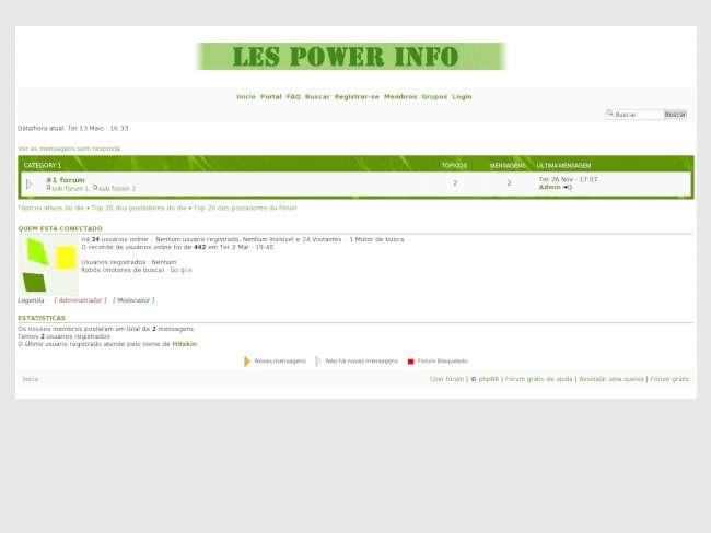 Les power info 4