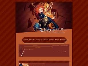 Thème Disney avec Merida