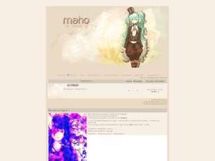 Maho thème automne 2012