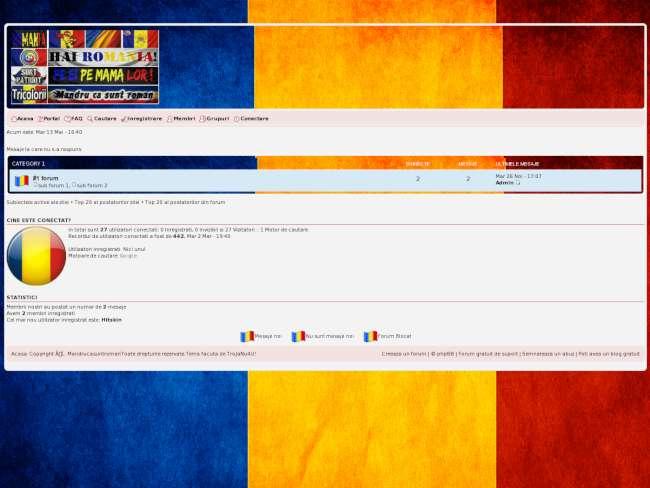 Romania Sunt Tricolor