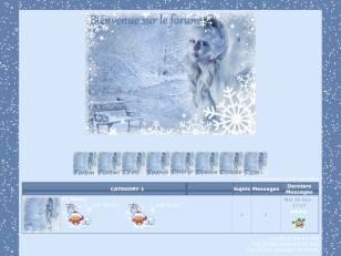 mon theme tombe la neige