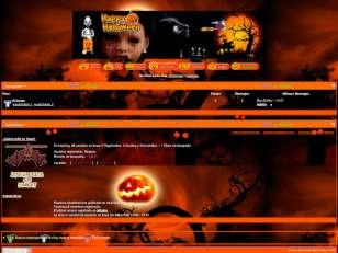 Halloweeen theme
