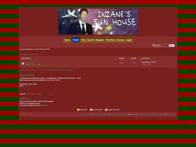 Christmas for IZF