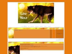 Life wolf - tu touches...