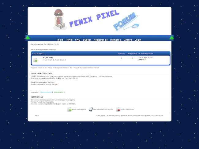 Fenix pixel forum v2.0