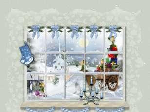 Noël-fenêtre