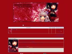 Manga rouge fêtes