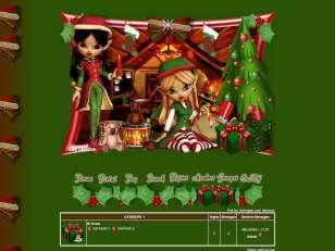 Elfes santa